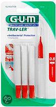 Gum Trav-ler Fine 0.8 mm - 4 st - Rager