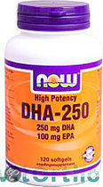 Now DHA-250 Softgels 120 st