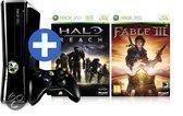 Microsoft Xbox 360 250GB + Halo Reach + Fable III Voordeelbundel