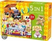 Speelgoedwinkel - legpuzzel - 5 In 1