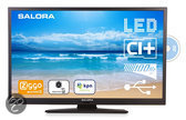 Salora 32LED8105CD - Led-tv-/dvd-combo - 32 inch - HD-ready - Zwart