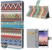 Huawei Ascend P7 book case wallet stam