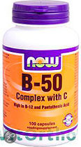 Now Vit B 50 with C