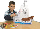 Blancofun Piratenschip (bedrukt)