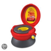 Disney Cars 3-in-1 toilettrainer. Potje, opstapje en wc-verkleiner in 1