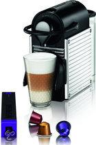 Krups Nespresso Apparaat Pixie XN300D - Stainless Steel Behuizing - RVS