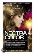 Schwarzkopf Nectra Color 755 Donker Goudblond - Haarkleuring