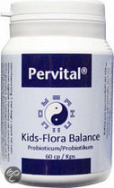 Pervital Kids-Flora Balance Capsules 60 st