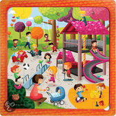 Puzzel-multi Park 3 in 1