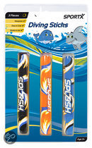 SportX Neoprene Diving Sticks 3 Stuks