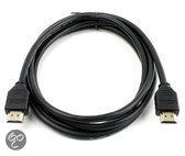 Caliber CLH102.4 - HDMI kabel met vergulde pluggen (2 meter , versie 1.4) - zwart