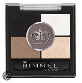 Rimmel Glam'Eyes HD Pentad Eyeshadow - 023 Foggy Grey - Eyeshadow