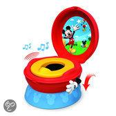 Tomy - Disney Mickey Mouse Toilettrainingssysteem met geluid - Rood