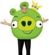 Angry Birds kostuum Green Pig 48-50 (m)