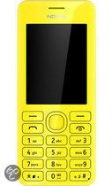 Nokia 206 - Dual Sim - Geel