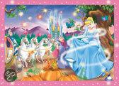 Jumbo Disney Assepoester - Lichtjes Puzzel - 352 stukjes