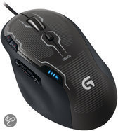 Logitech G500s Gaming Muis Zwart PC