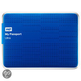 WD My Passport Ultra WDBZFP0010BBL - Hard drive - 1 TB - external ( portable ) - USB 3.0 - blue