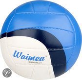 Strand Volleybalset met Pomp - Blauw
