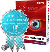 ABBYY Finereader 11 Professional - anniversary edition / Inclusief PDF Transformer