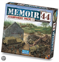 Memoir '44 - Equipment Pack - Bordspel