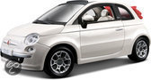 Fiat 500 Cabriolet scale 1:24 (white)