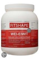 Fitshape Wei Eiwit - Aardbei - Voedingssupplement