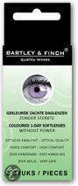 Bartley & Finch - Paars - 2 st - Kleurlenzen