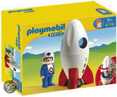 Playmobil Maanraket Met Astronaut - 6776