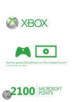 Foto van Microsoft Xbox Live 2100 Microsoft Punten Xbox 360