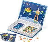 Janod Magneetboek Large Mozaiekrobot