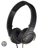 JVC HA-S400-N - On-ear Koptelefoon - Zwart/Goud