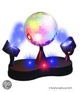 Disco Licht - Twin LED Project Disco Lamp