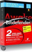 Bitdefender Internet Security 2013 - Update / 2 Jaar / 3 computers