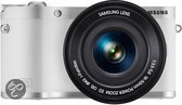 Samsung NX300M + 16-50 mm Powerzoom - Systeemcamera - Wit