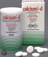 Calcium D - 100 kauwtabletten  - Mineralen