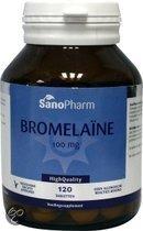 Sanopharm Voedingssupplementen Sanopharm Bromelaine 100mg 120tab