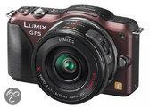 Panasonic Lumix DMC-GF5 14-42mm Powerzoom - Systeemcamera - Bruin