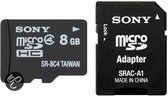 Sony microSD kaart 8 GB
