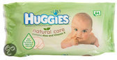 Huggies Natural Care - Billendoekjes