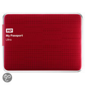 Western Digital My Passport Ultra Externe Harde Schijf - 500 GB / Rood