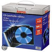 Hama 51270 Cd Slim Box - 100 stuks