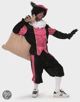 Roze zwarte pieten kostuum budget 58 (2xl/3xl)