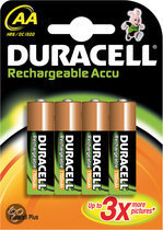 Duracell Rechargeable Accu - 4xAA