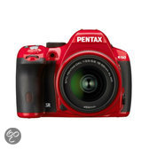 Pentax K 50 Kit + DAL 18-55mm WR - Systeemcamera - Rood