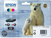 Epson 26 (T2616) - Inktcartridge / Multipack