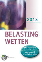 Belastingwetten / 2013