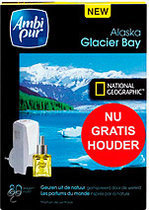 Ambi Pur Electronical National Geograpic Glacier Starterset