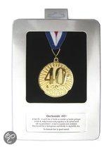 Oorkonde met medaille 40 goud waard