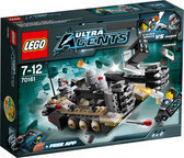 LEGO Ultra Agents Tremor Track Infiltratie - 70161